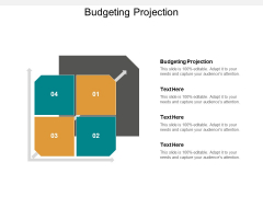 Budgeting Projection Ppt PowerPoint Presentation Gallery Rules Cpb