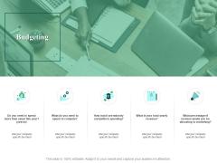 Budgeting Soical Agenda Ppt PowerPoint Presentation Styles Smartart