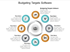 Budgeting Targets Software Ppt PowerPoint Presentation Pictures Slide Download Cpb