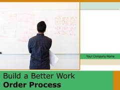 Build A Better Work Order Process Growth Financial Ppt PowerPoint Presentation Complete Deck