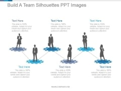 Build A Team Silhouettes Ppt PowerPoint Presentation Inspiration