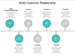 Build Customer Relationship Ppt PowerPoint Presentation Portfolio Aids Cpb