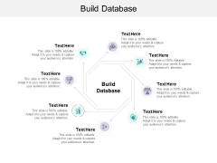 Build Database Ppt PowerPoint Presentation Infographic Template Design Ideas Cpb