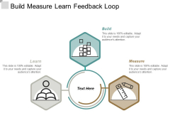 Build Measure Learn Feedback Loop Ppt Powerpoint Presentation Ideas Gridlines