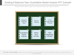Building A Balanced Team Quantitative Market Analysis Ppt Example