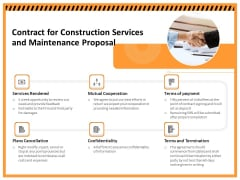 Building Assembly Conservation Solutions Contract For Construction Services And Maintenance Proposal Introduction PDF