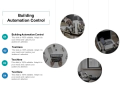 Building Automation Control Ppt PowerPoint Presentation Gallery Elements Cpb