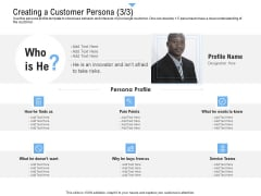 Building Customer Experience Strategy For Business Creating A Customer Persona Teams Microsoft PDF