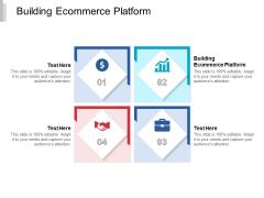 Building Ecommerce Platform Ppt PowerPoint Presentation Show Information Cpb