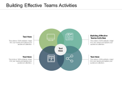 Building Effective Teams Activities Ppt PowerPoint Presentation File Graphics Download Cpb