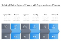 Building Efficient Approval Process With Segmentation And Success Ppt PowerPoint Presentation Show Format Ideas PDF