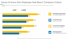 Building Efficient Work Environment Survey To Know How Employee Feel About Company Culture Template PDF