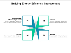 Building Energy Efficiency Improvement Ppt PowerPoint Presentation Layouts Example File Cpb