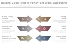 Building Global Initiative Powerpoint Slides Background