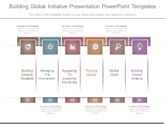 Building Global Initiative Presentation Powerpoint Templates