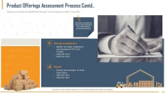Building Innovation Capabilities And USP Detection Product Offerings Assessment Process Contd Review Ppt Model Styles PDF