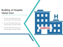 Building Of Hospital Vector Icon Ppt PowerPoint Presentation Professional Background Images PDF