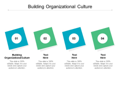 Building Organizational Culture Ppt PowerPoint Presentation Pictures Example Topics Cpb