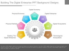 Building The Digital Enterprise Ppt Background Designs