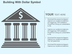 Building With Dollar Symbol Powerpoint Templates