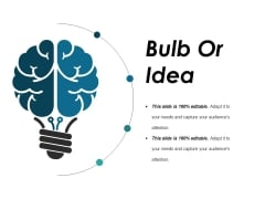 Bulb Or Idea Ppt PowerPoint Presentation Icon Model
