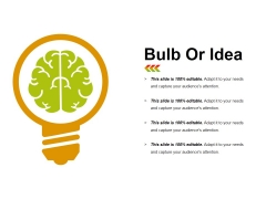 Bulb Or Idea Ppt PowerPoint Presentation Ideas Designs