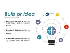Bulb Or Idea Ppt PowerPoint Presentation Outline Introduction
