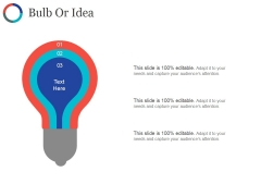 Bulb Or Idea Ppt PowerPoint Presentation Pictures Gallery
