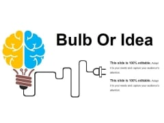 Bulb Or Idea Ppt PowerPoint Presentation Slides Example