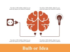 Bulb Or Idea Technology Ppt PowerPoint Presentation Infographics Introduction