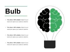 Bulb Ppt PowerPoint Presentation File Brochure