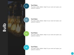 Bulb Ppt PowerPoint Presentation File Themes