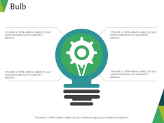 Bulb Ppt PowerPoint Presentation Gallery Icon