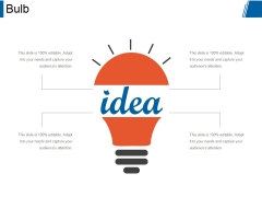 Bulb Ppt PowerPoint Presentation Guidelines