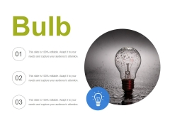 Bulb Ppt PowerPoint Presentation Visual Aids Inspiration