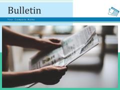Bulletin Businessman Knowledge Ppt PowerPoint Presentation Complete Deck