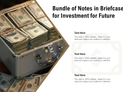 Bundle Of Notes In Briefcase For Investment For Future Ppt PowerPoint Presentation File Infographics PDF