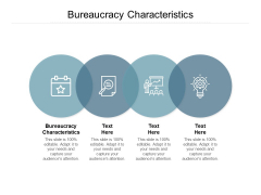 Bureaucracy Characteristics Ppt PowerPoint Presentation Pictures Gridlines