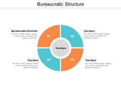 Bureaucratic Structure Ppt Powerpoint Presentation Icon Aids Cpb