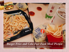 Burger Fries And Cola Fast Food Meal Picture Ppt PowerPoint Presentation Layouts Professional PDF