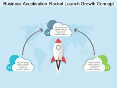 Business Acceleration Rocket Launch Growth Concept Ppt PowerPoint Presentation Summary Ideas