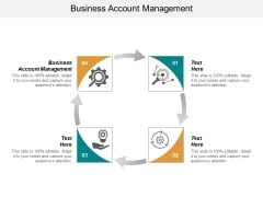 Business Account Management Ppt PowerPoint Presentation Gallery Templates Cpb