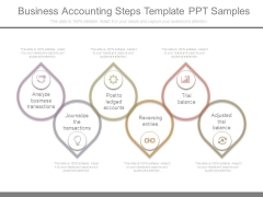 Business Accounting Steps Template Ppt Samples