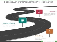 Business Achievements Example Ppt Presentation