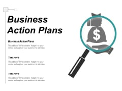 Business Action Plans Ppt PowerPoint Presentation Portfolio Layouts Cpb