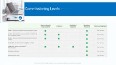 Business Activities Assessment Examples Commissioning Levels Themes PDF