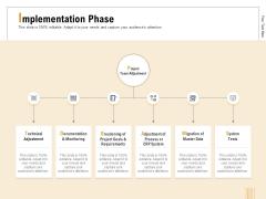 Business Activity Flows Optimization Implementation Phase Ppt PowerPoint Presentation Portfolio Smartart PDF