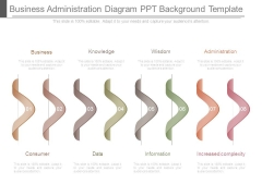 Business Administration Diagram Ppt Background Template