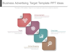 Business Advertising Target Template Ppt Ideas