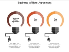Business Affiliate Agreement Ppt PowerPoint Presentation Gallery File Formats
